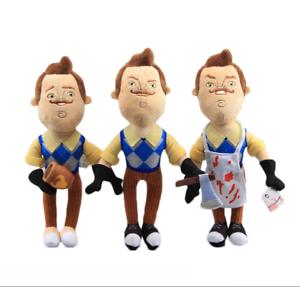 Hello-Neighbor-Butcher-Neighbor-Plush-Figure-Toy-Stuffed-Doll-Game-kids-Gift-AU
