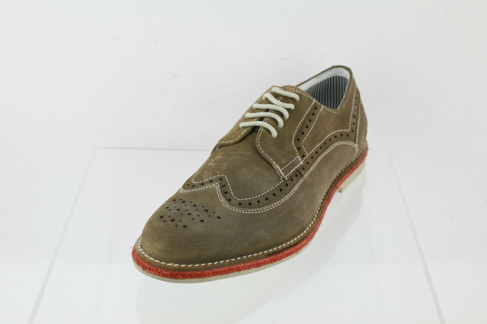 Men's Kenneth Cole Reaction Grow-Ceeds Brown Suede Lace-up Oxfords Size 9 M
