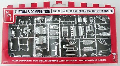 AMT Pp010chrystler & GM Corvette Corvair Motors Parts Pack