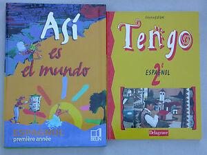 Details Sur Asi Es El Mundo 4e Et 3e Tengo 2nd Apprendre L Espagnol College Lycee 3 Vol