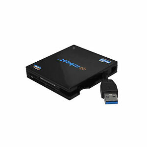 USB 3.0 Super Speed Multi Card Reader Dual SD/MicroSD slots