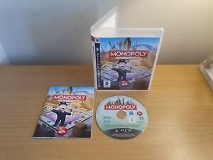 PLAYSTATION 3-PS3-Monopoly-Complet avec Manuel Sans p&p