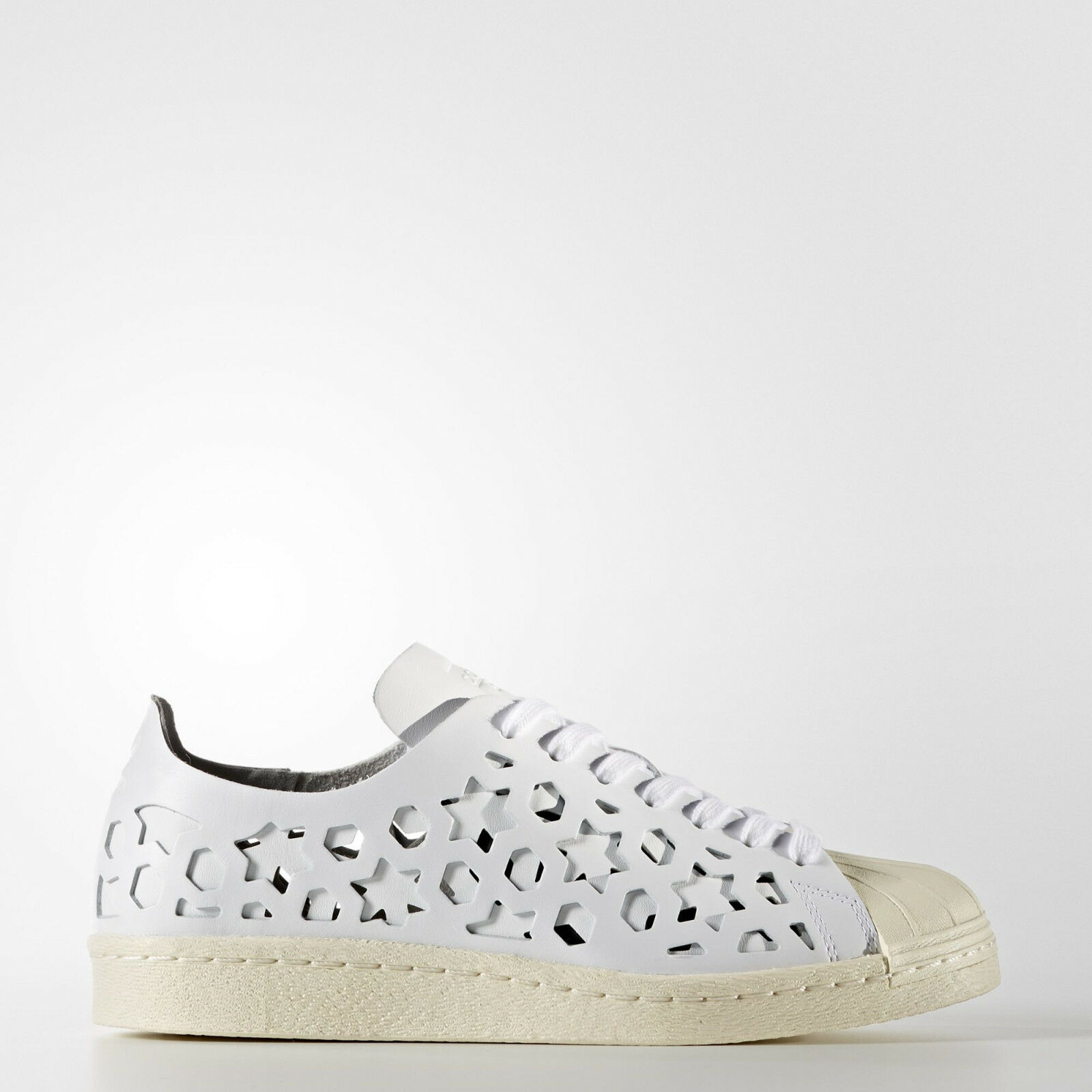 nib~Adidas Original SUPERSTAR 80s CUT OUT LEATHER Campus honey Shoe~Women size 8