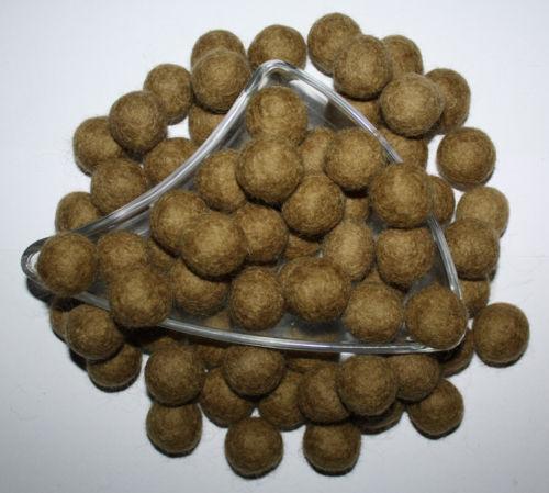 Lot of 300 100/% Wool Felt Ball Assort Color For Handmade DIY 2cm Garland Nursery