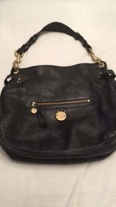 145a8308a7 Image is loading Beautiful-Black-Leather-Genuine-Mulberry-Somerset-Hobo-Bag-