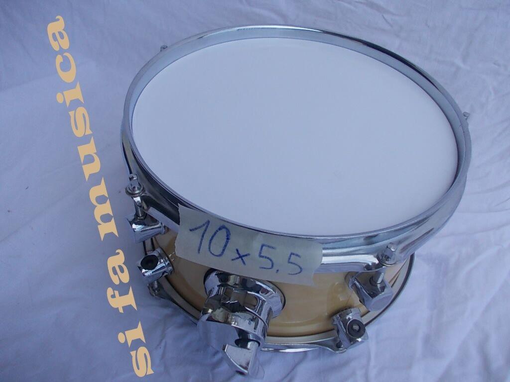 vendita all'ingrosso Tom 10  x 5,5    in Acero ( timpano cassa drum rullante snare batteria piatto )  edizione limitata a caldo