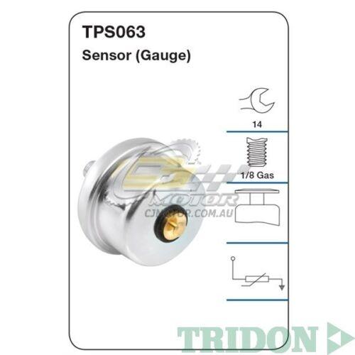 1HZ Diesel TPS063 TRIDON OIL PRESSURE FOR Landcruiser-Diesel 12//91-02//98 4.2L