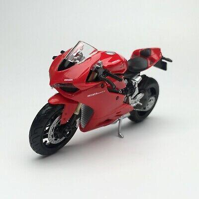 Maisto 1:18 Ducati 1199 Panigale moto Bike Diecast Model Toy New In Box