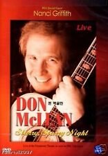 Don Mclean Starry Night Live - All  Region Compatible Nanci Griffith NEW DVD