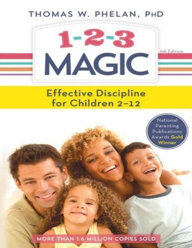 1-2-3 Magic PDF E-Book digitale 3-Step Discipline for Calm and H Effective