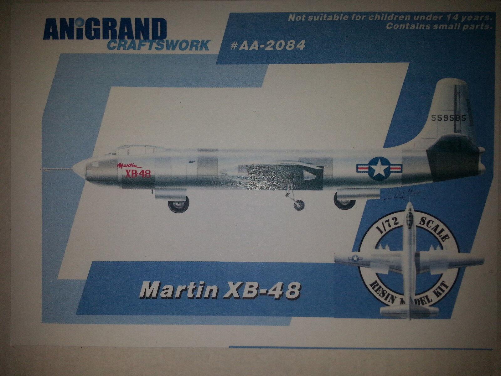 MARTIN XB-48  ANIGRAND 1 72 RESIN KIT