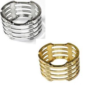 Damen-Armspange-mit-Swarovski-Kristall-Armreifen-Freundschaft-Ketten-Manschette
