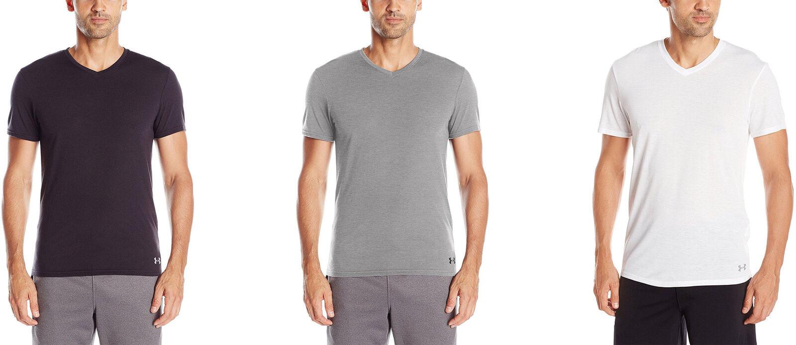 2d710271 Details about Under Armour Men's Core V-Neck Undershirt, 3 Colors