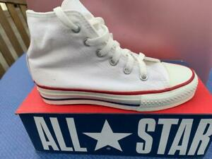Details about CONVERSE OPTICAL WHITE Hi TOPS ORIGINAL Made in the USA NEW CHILDS SIZE 13 12