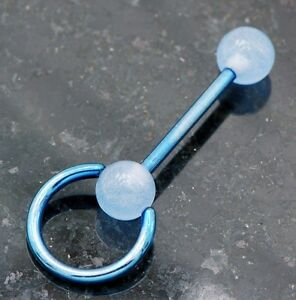 1-Pc-Blue-Titanium-Anodized-Barbell-with-Glow-in-the-Dark-Slave-Tongue-Ring-14g