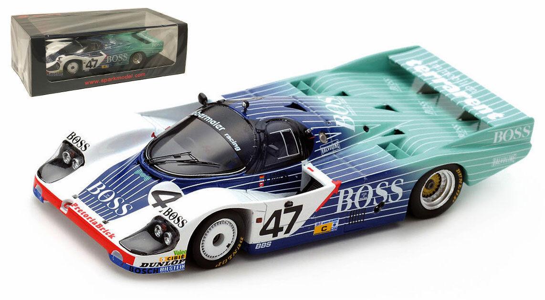 SPARK S5506 PORSCHE 956  47 'Obermaier Racing  Le Mans 1984-échelle 1 43