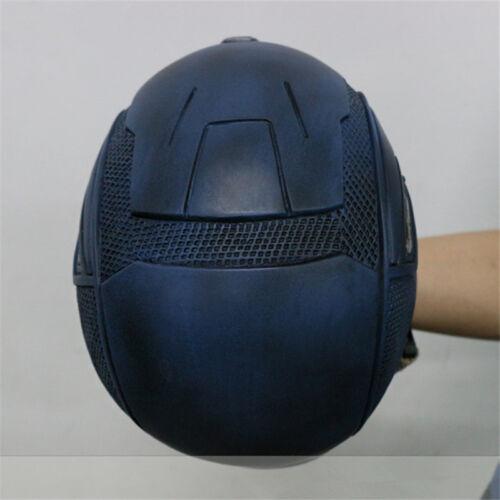 New Captain America Half Helmet Mask Avengers Marvel/'s Civil War Cosplay Props