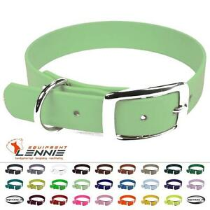 BioThane-Hundehalsband-Halsband-Halsung-13-mm-Dornschnalle-Doppelstegschnalle