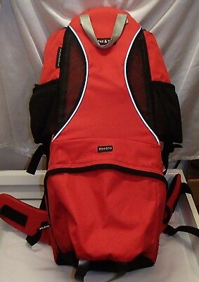 Phil Ted S Metro Red Baby Backpack Child Toddler Carrier Ebay
