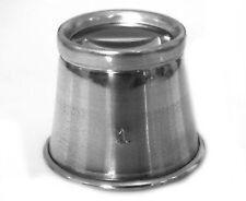Aluminium 4.5x Magnifying Diamond Gold Jewellers Watch Hobby Magnifier Eye Glass