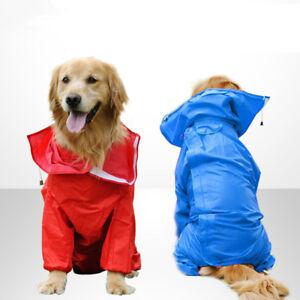 Large-Dog-rain-coat-waterproof-outdoor-hoodie-golden-Labrador-Huskey-Samoyed