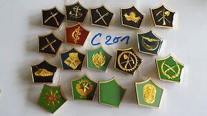 Kragenspiegel-Tunesien-verschiedene-17-Stueck-c201