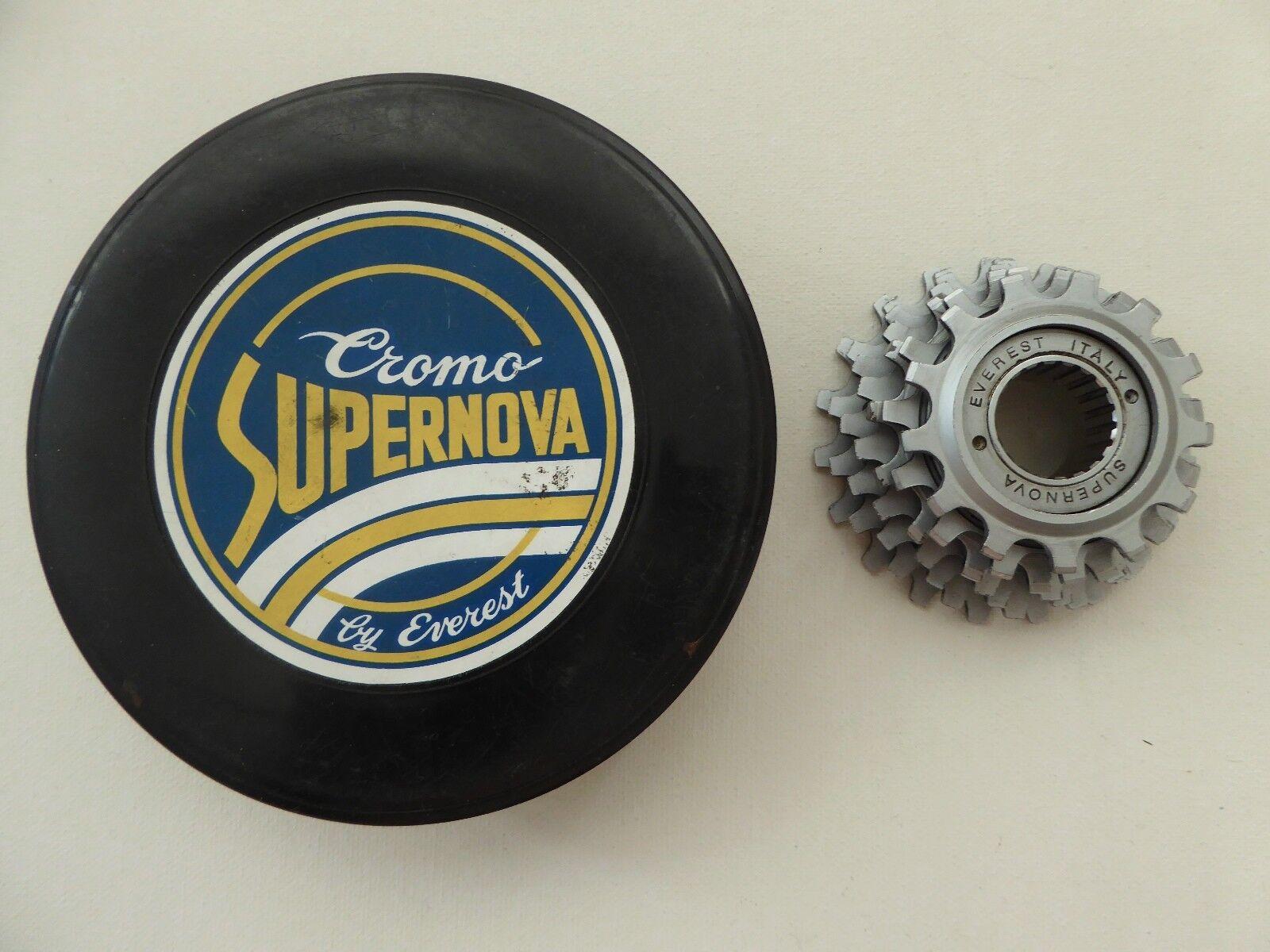 Vintage NOS 80s Everest Supernova 13-21 7 SP rueda libre 4 su viaje vintage