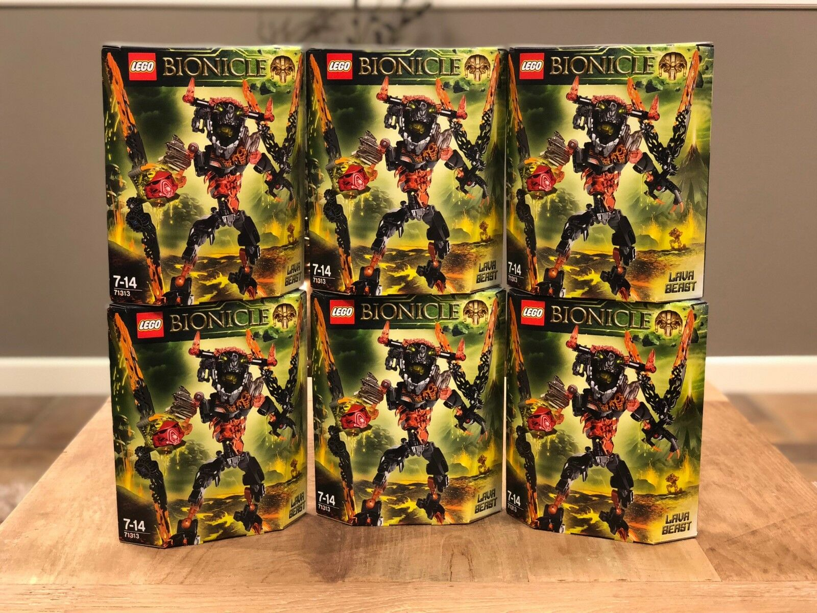 New and sealed Lego Bionicle Lava Beast 71313 from 2016