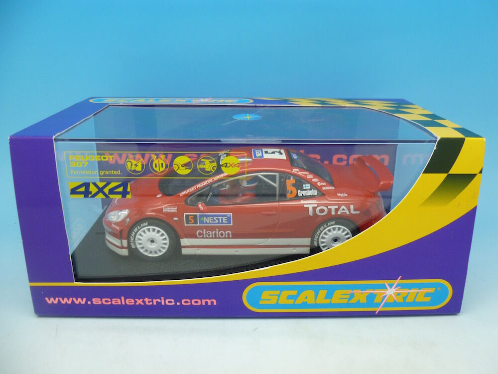 Scalextric C2560 Peugeot 307 WRC Works 2004 No5