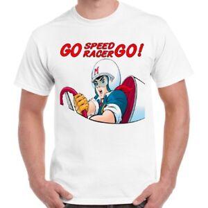 Amical Go Speed Racer Go Japonais Comic Anime Rétro T Shirt 63-afficher Le Titre D'origine