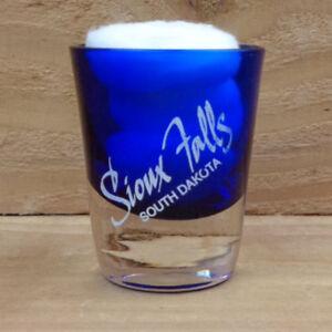 "SIOUX FALLS, SOUTH DAKOTA ""Shot Glass"" orig."