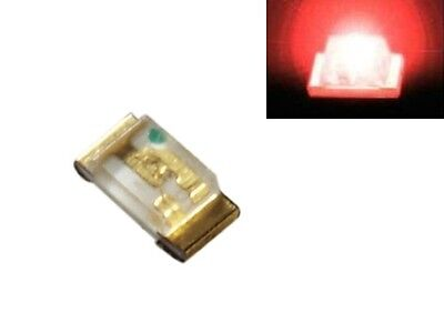 S186 - 50 Stück SMD LED 0603 rot LEDs red