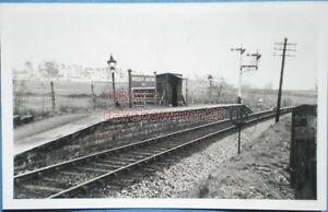 PHOTO  MOREBATH JUNCTION HALT RAILWAY STATION DEVON AND SOMERSET RAILWAY - Tadley, United Kingdom - PHOTO  MOREBATH JUNCTION HALT RAILWAY STATION DEVON AND SOMERSET RAILWAY - Tadley, United Kingdom