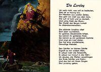 Die Loreley , Ansichtskarte