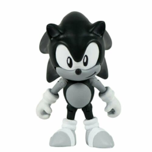 SONIC THE HEDGEHOG unique Figurine Pack-Noir /& Blanc SONIC ou queues de NEUF