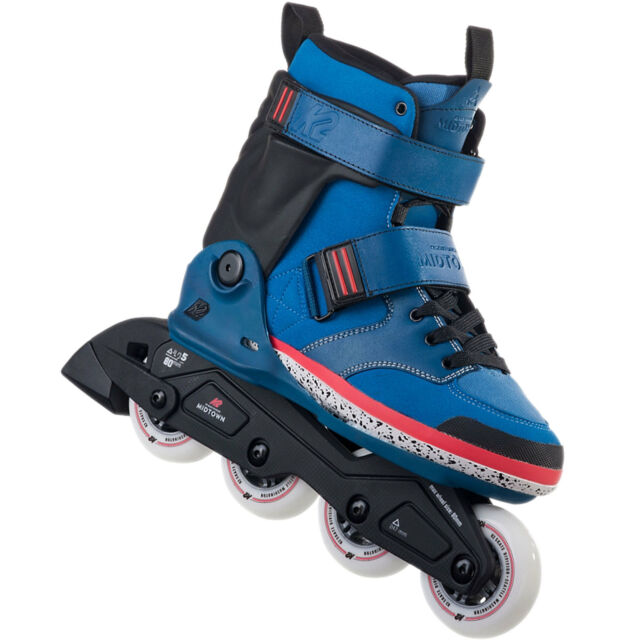 K2 Midtown M hommes Rollers en ligne inline skates Allround Bleu NEUF