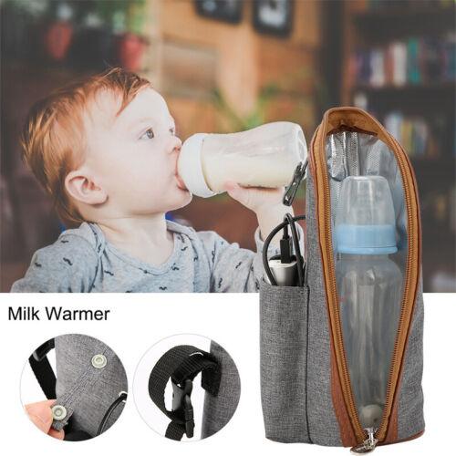 USB Flaschenwärmer Babynahrung Milch Flaschen Isolierung Babykostwärmer für Auto