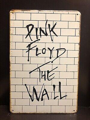 Pink Floyd retro vintage gig concert metal wall sign plaque