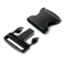 """Black ITW Nexus 60mm / 2.36"""" Side Release Buckle ( Military Specification Tactic"""
