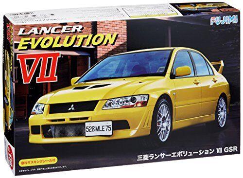 Fujimi ID-179 Mitsubishi Lancer Evolution VII GSR 1 24 Escala Kit