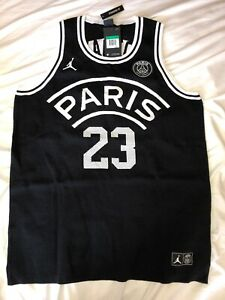 release date: 80e3d f2479 Details about Jordan X Paris Saint-Germain PSG Knit Basketball Jersey Size-  XLT Last One!!!