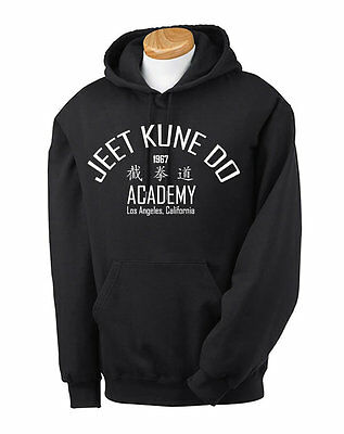 Bruce Lee Silhouette Kids Hoodie Martial Arts Jeet Kune Do The Dragon MMA Boys