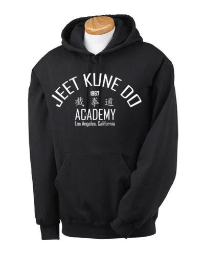 Jeet Kune Do Bruce Lee Hoodie Martial Arts Kung Fu MMA Karate Enter the Dragon