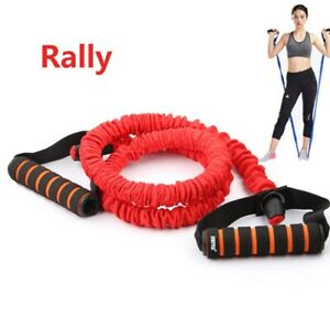 6// 11 PCS Resistance Bands Set Home Gym Exercise Fitness Tube Bands Training New