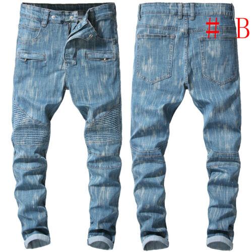 Men Skinny jeans Stretchy Pant Slim Fit Pant Long Trouser Denim Pant Casual Pant