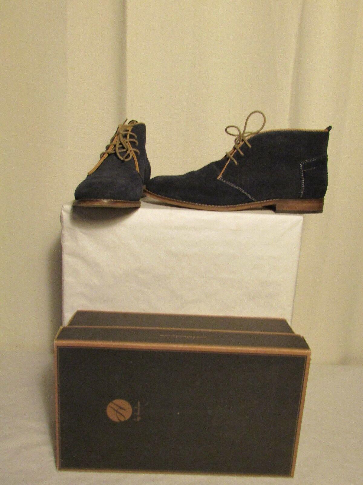 zapatos By HUDSON  vasa suède azul 44