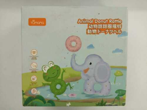 Tumama Baby Rattle New Animal Donut Rattles Same Day dispatch