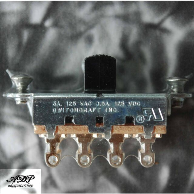 Switch On-Off-On Switchcraft #11D1049X pour Fender Mustang Duosonic