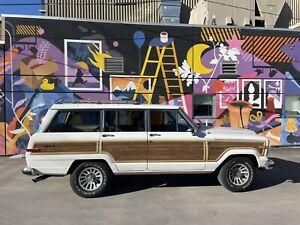 1991 Jeep Wagoneer Wood panel