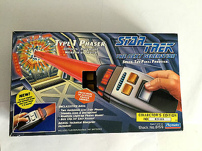 Vintage 1994 Star Trek The Next Generation Type 1 Phaser Collector's Ed #021104